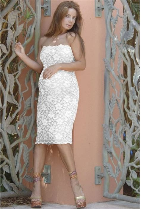 Lace Maternity Dresses For Baby Shower by Strapless Lace Maternity Dress In Ivory So Pretty For