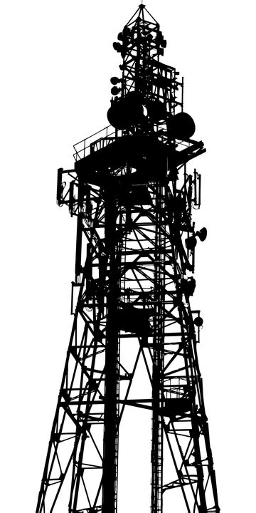 communications telephone wireless  vector graphic