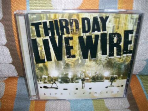 Third Day Live Wire Live In Concert CD/DVD SET Very Good++ ...