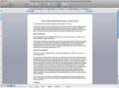 Word Mac Microsoft 2008 Office Document Using