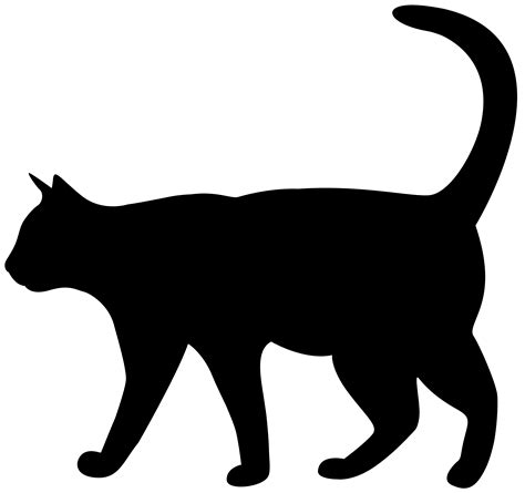 cat silhouette clipart clipart collection cats