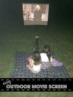 outdoor  screen diycinema outdoor ideas