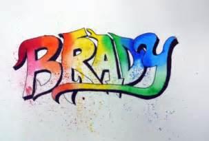 Graffiti Art Name Tag