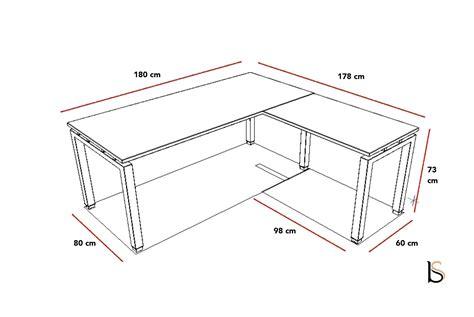 plan bureau de travail bureau d angle tempo mobel linea bureaux opératif mobel