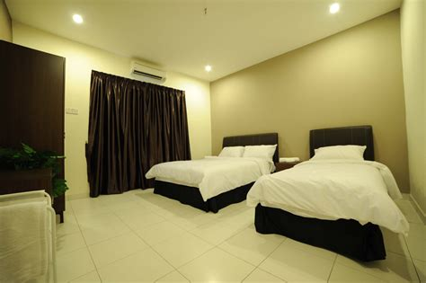 Family Bedroom by 3 Bedroom Family The Osborne Ipoh Serviced Apartments