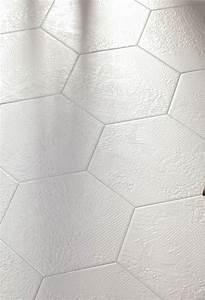 Carrelage Hexagonal Blanc : carrelage imitation carreau de ciments hexagonaux eguilles ~ Premium-room.com Idées de Décoration