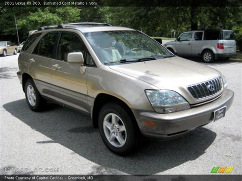 gold lexus rx 2001 lexus rx 300 in burnished gold metallic photo no