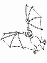 Bat Pages Coloring Printable sketch template