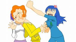 Petunia punches Disco Bear by Chidori1334 on DeviantArt