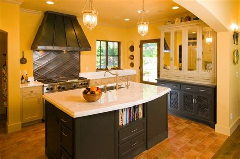 kitchen cabinets gallery of pictures classic kitchen design in yellow with charcoal gray 8053