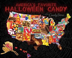 Top Halloween Candy by State ~ Interactive Map ...