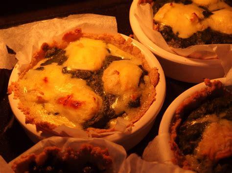 cours de cuisine à domicile tarifs tarte à l ortie au fromage ou à la poudre noisette