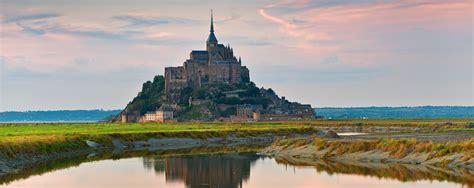 Carte Touristique Baie Du Mont Michel by Baie Du Mont Michel Voyages Cartes