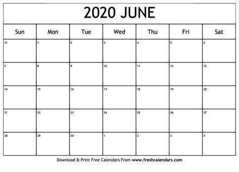 june calendar printable fresh calendars