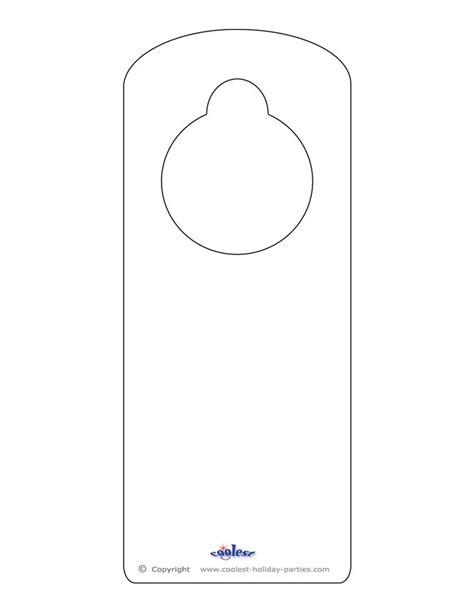 Door Hanger Template 25 Best Ideas About Door Hanger Template On