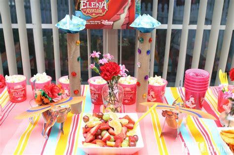 Elena Birthday Party Ideas of Avalor