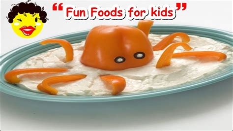 fun food ideas  kids top  easy recipes  children
