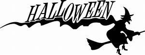 Happy Halloween Clip Art Black And White | Clipart Panda ...