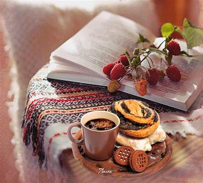 Gifs Coffee Animated Photobucket Morning Cafe Gifts