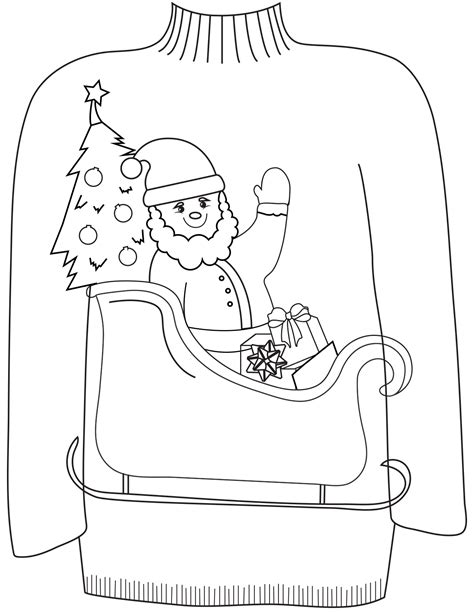 coloring pages 16 sweater colouring pages in the