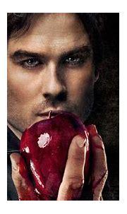 Damon Salvatore With Apple In Hand HD The Vampire Diaries ...