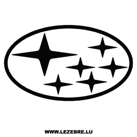 subaru emblem subaru logo decal