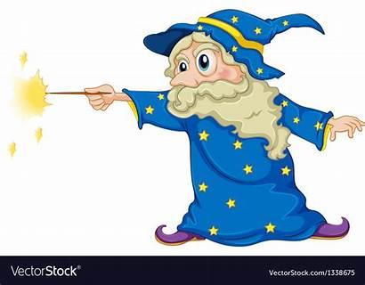 Wizard Wand Magic Holding Vector Transparent Clipart