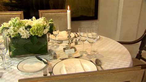 how to set a formal dining room table how to set a formal dining table part 1 youtube