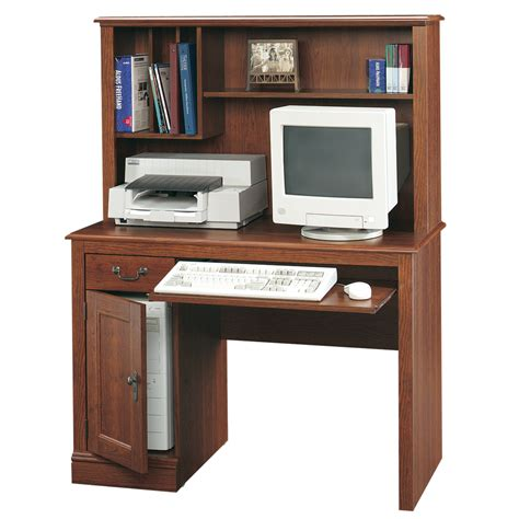 sauder camden county computer desk shop sauder camden county country computer desk at lowes