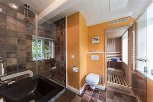 Sauna Für Badezimmer : tageslicht bad und sauna f r genie er ferienhaus auster h s ~ Lizthompson.info Haus und Dekorationen