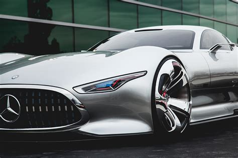Mercedes Benz Amg Vision Gran Turismo Worldwide Debut