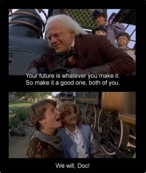 Back To The Future Movies Quotes