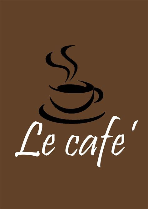 We've curated 80 restuaurant logo ideas we hope hit the spot for your. Le Cafe'   Coffee logo, Cafe logo, Coffee shop names
