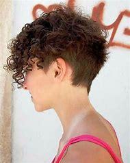 Undercut Hairstyles Short Curly Hair Women