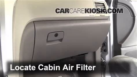 cabin filter replacement chevrolet traverse