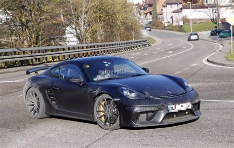 2019 New Porsche by 2019 Porsche 718 Cayman Gt4 Spied Pdk Rumors Still