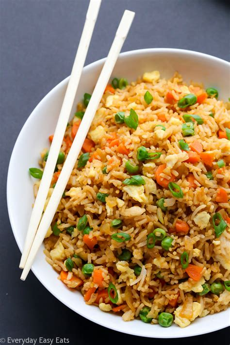 fried rice chinese fried rice everyday easy eats