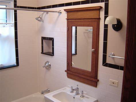 chicago  flat medicine cabinet bathroom