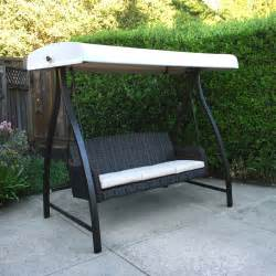 Menards Patio Swing Cushions by Replacement Canopy For Fairview Swing Riplock 500 Garden