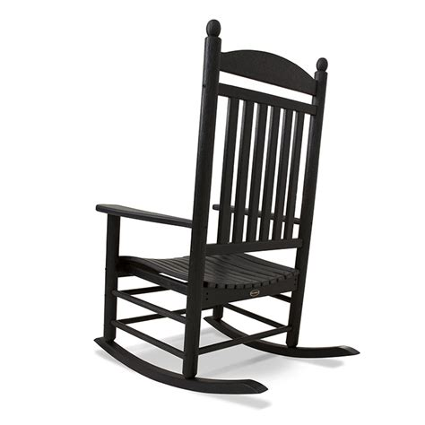 jefferson plastic outdoor rocking chair polywood