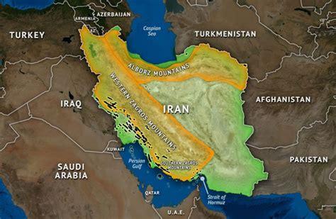 irans geographic challenge
