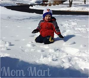 Mom Mart  A Fun Filled Snow Day