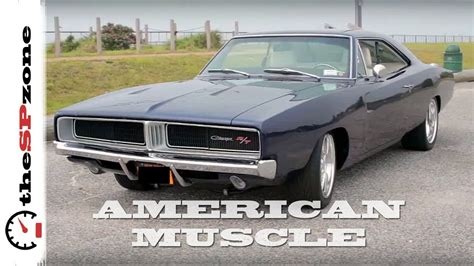 American Muscle Cars Exhaust Sound Compilation