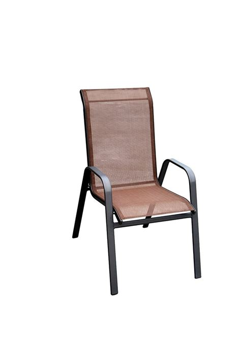 Sling Back Stackable Patio Chairs by Furniture Stackable Sling Back Patio Chairs Home Design