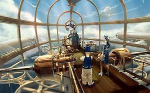 Image, Result, For, Steampunk, Airship, Cockpit