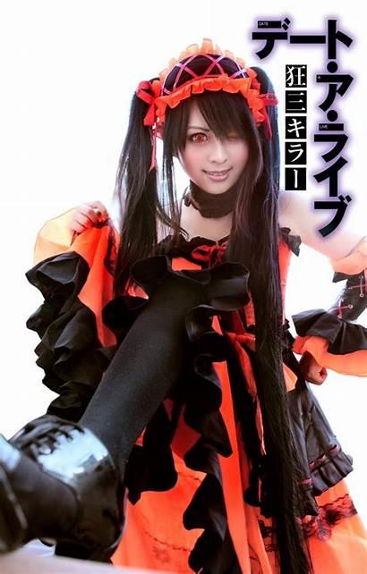 Kurumi Date Tokisaki Cosplay Petite Idol Otaku