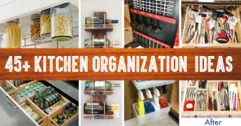kitchen organization ideas budget 45 small kitchen organization and diy storage ideas diy projects