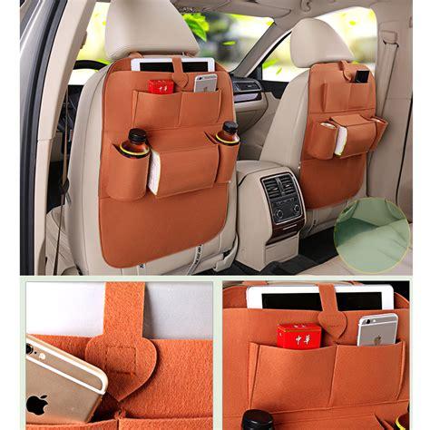 car accessories interior car backseat bag magazine organizer pocket car interior