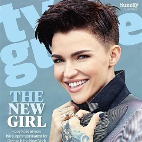 1000  ideas about Ruby Rose Hair on Pinterest   Ruby Rose