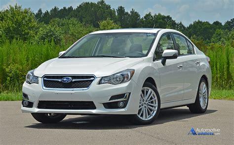 Subaru 2015 Impreza by 2015 Subaru Impreza 2 0i Limited Review Test Drive